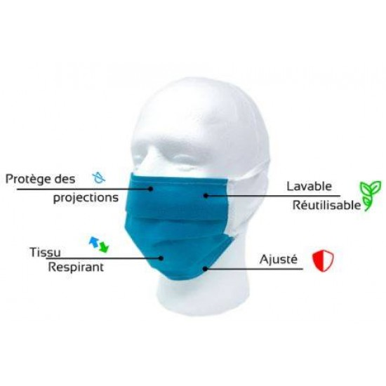 Masque de protection personnelle lavable