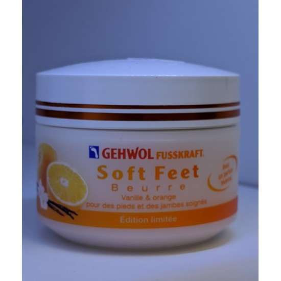 Beurre Soft Feet vanille & orange