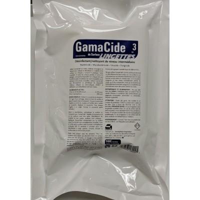 Recharge Lingettes GamaCide 3 sans fragrance